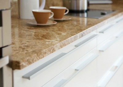 Contemporary Kitchens Sandymount, Dublin. Good handles are so important