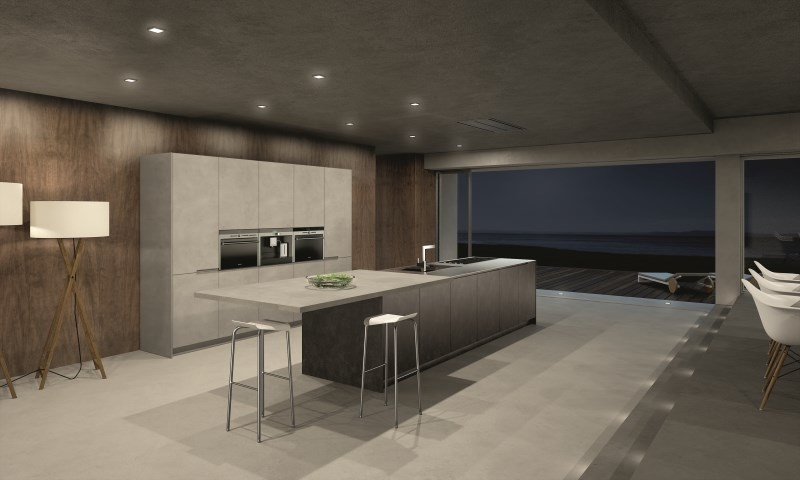 Contemporary Kitchens | Lineaquattro Signum Quadra Range
